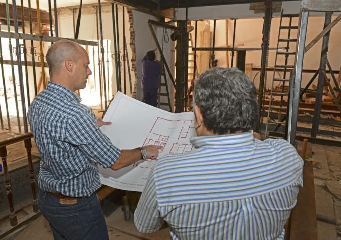 Obras de ampliación y remodelación en el Concejo Deliberante de San Fernando