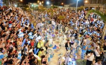 En apenas dos noches, más de 160 mil personas ya disfrutaron del Gran Corso de San Fernando