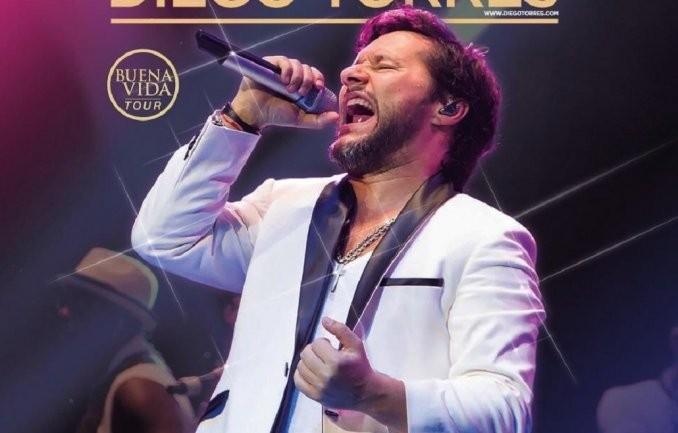 Diego Torres brindará este sábado un recital con entrada y libre gratuita en Tigre