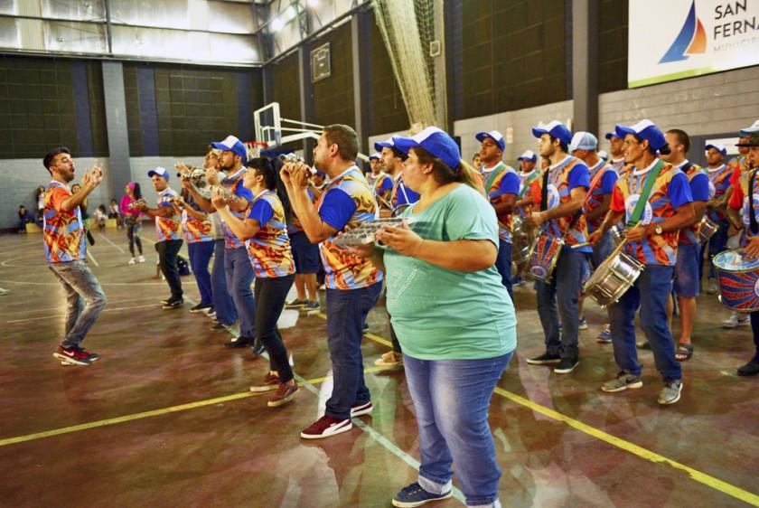 La primera Escuela de Samba de la región se prepara para el Gran Corso de San Fernando