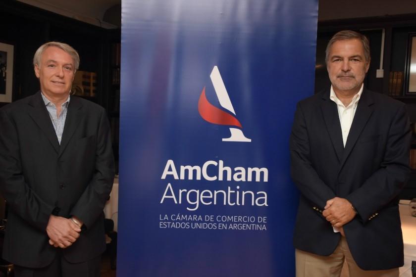 Trenes Argentinos presentó el plan de inversiones ferroviarias ante la Cámara de Comercio de Estados Unidos (AmCham)