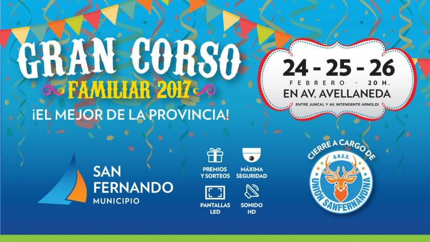 """Vuelve el """"Gran Corso Familiar"""" de San Fernando, el mejor de la Provincia"""
