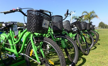 Prestan bicis gratis los fines de semana en el Parque Náutico de San Fernando