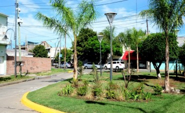 San Fernando sigue mejorando plazas: una más en Virreyes