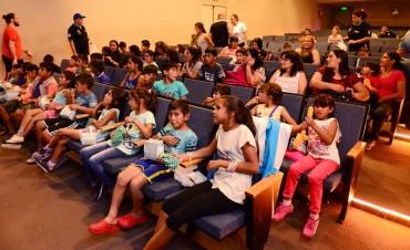 Chicos de Santiago del Estero estuvieron de visita por San Fernando