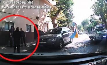 Las Patrullas Municipales de San Fernando detuvieron a dos personas con drogas y arma