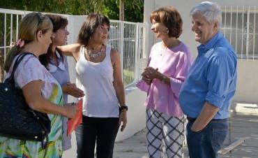 Andreotti recorrió las obras del Jardín de Infantes N° 907 y anunció refacciones en más escuelas