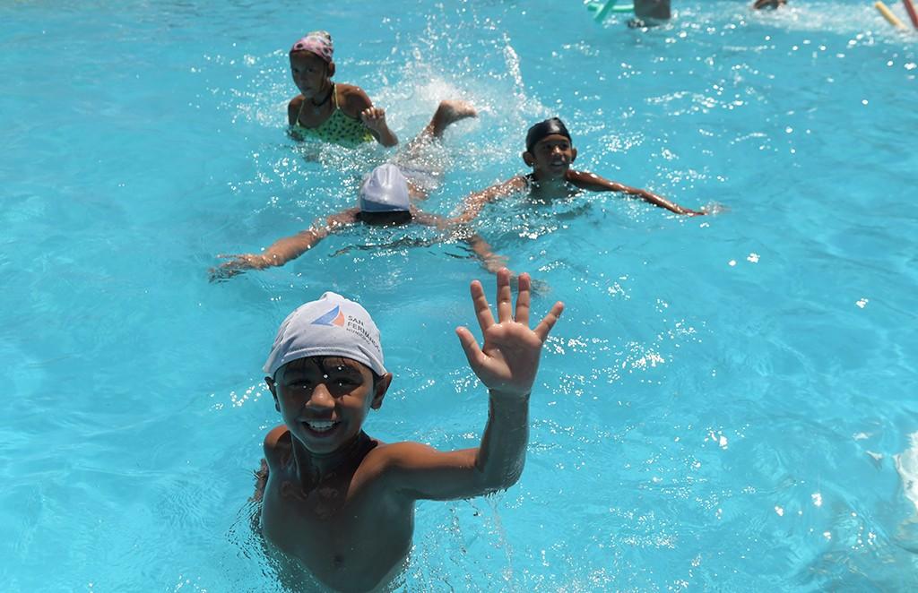 Miles de chicos ya disfrutan de las Colonias de febrero en San Fernando