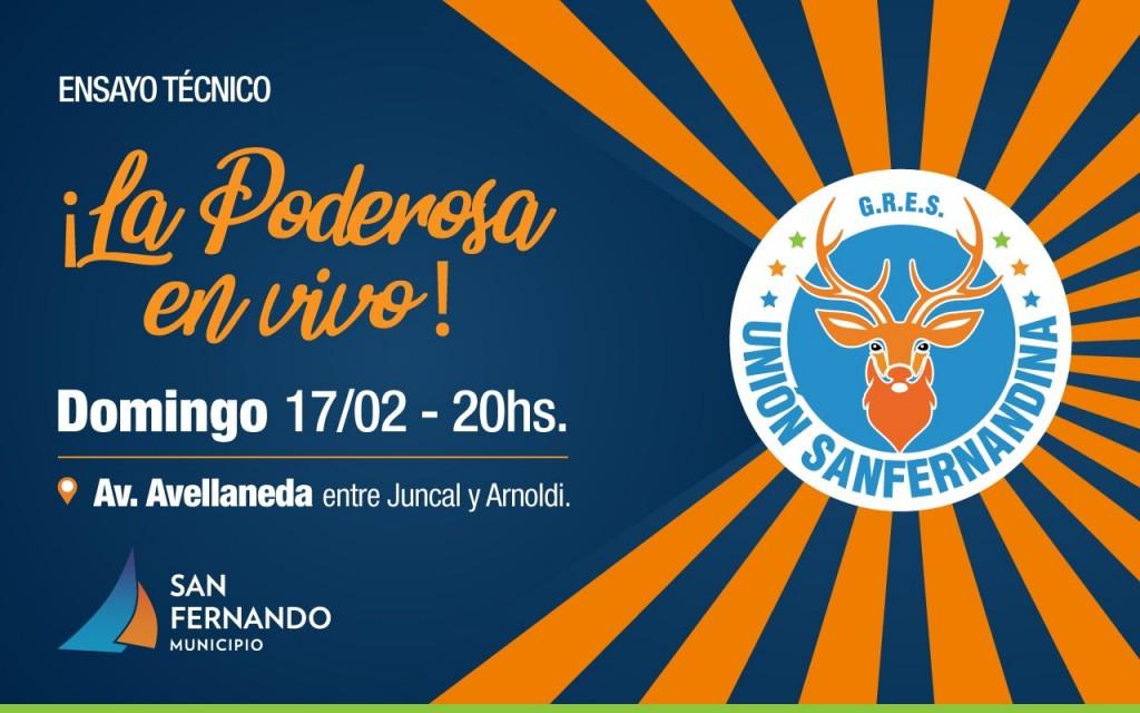 Este domingo, ensayo técnico abierto de Unión Sanfernandina previo al Gran Corso Familiar