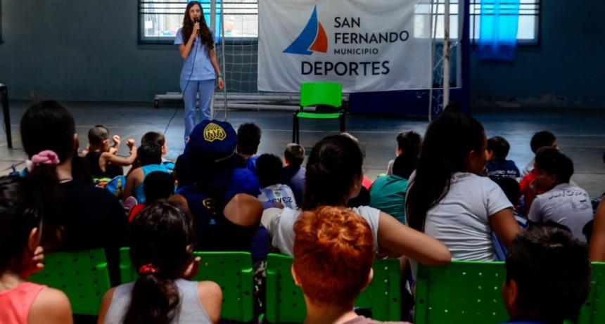 San Fernando enseña hábitos alimentarios saludables a los chicos en las Colonias de Verano