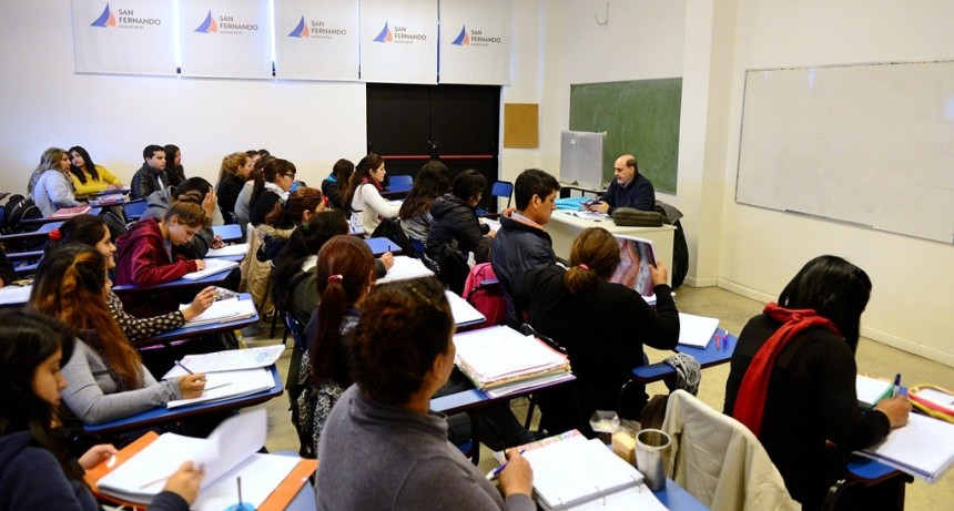 El Centro Universitario Municipal de San Fernando abrió las inscripciones