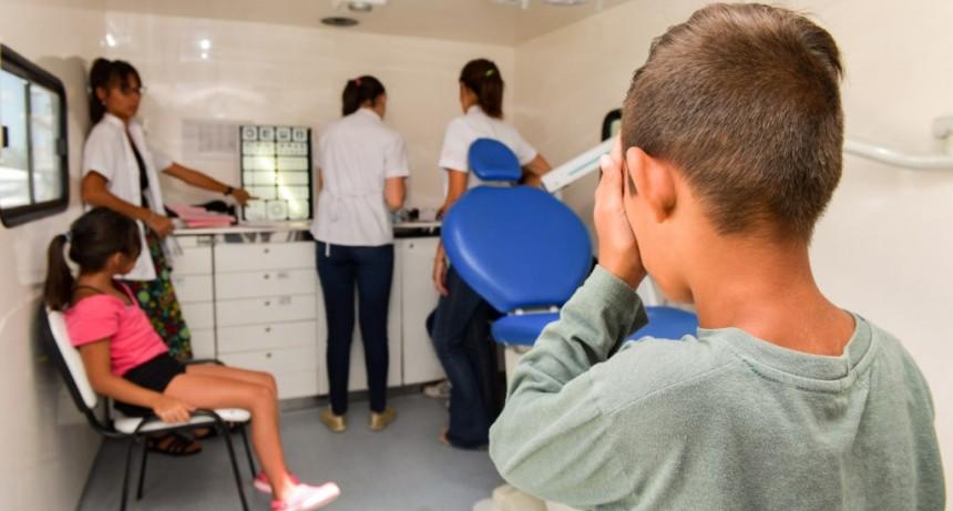 San Fernando realiza controles de salud a los niños que asisten a las Colonias de Verano