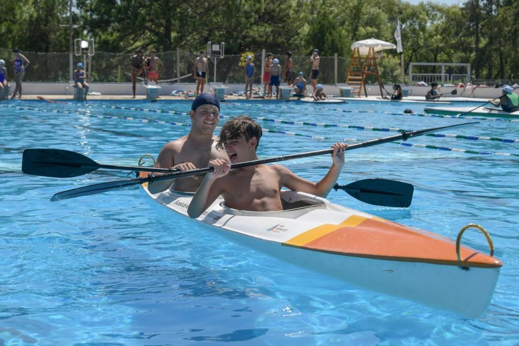 Las Colonias de Verano de San Fernando disfrutaron una jornada de integración con actividades náuticas