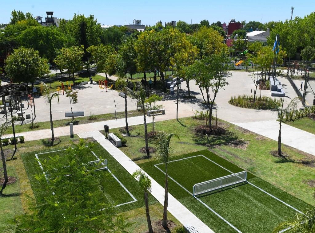 """San Fernando renovó la Plaza """"San Pablo"""