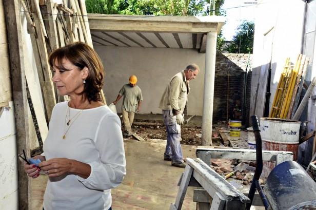 Comenzó la segunda fase de refacciones en la histórica Quinta 'El Ombú'
