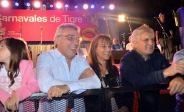 Los carnavales arrancaron con todo el color en Tigre