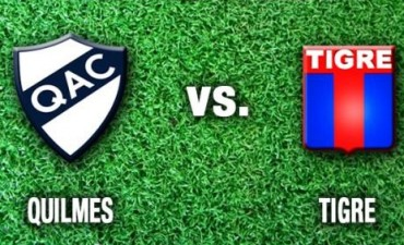 Quilmes le ganó a Tigre como local y logró su primera victoria