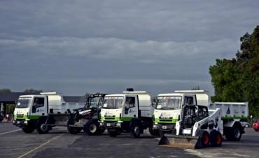 Nuevos vehículos amplían la flota municipal