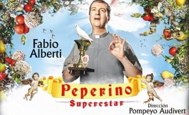 """Fabio Alberti presenta """"Peperino Superstar"""", en el nuevo Teatro Martinelli"""
