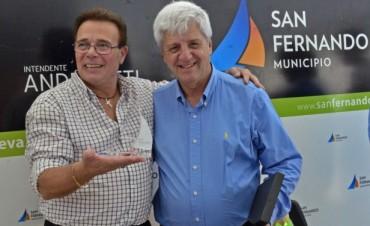 Luis Andreotti recibió a la Asociación de Pastores de la Zona Norte