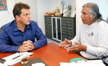 Félix Díaz, tras reunirse con Sergio Massa: