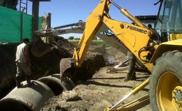 Obras hidráulicas en distintos barrios de Tigre