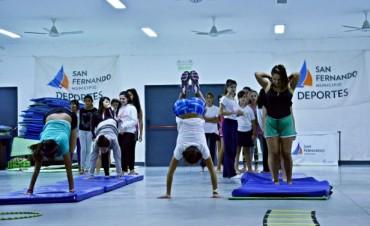 Exitoso comienzo de las Escuelas Deportivas Municipales de San Fernando
