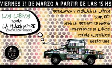 Jornada cultural en San Fernando: 'Los libros toman la Plaza Mitre'
