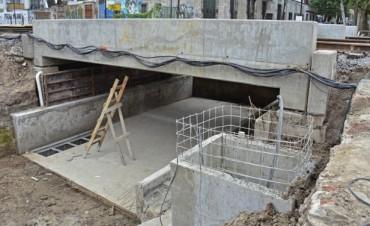 El Municipio encara una obra hidráulica anexa al Túnel de la calle Chacabuco