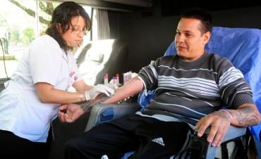 Arrancó su recorrido el Móvil de Donación de Sangre