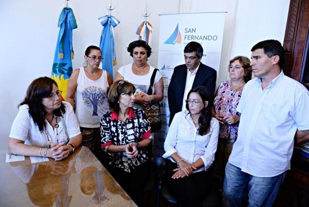 El Municipio de San Fernando, el Consejo Escolar y los sindicatos repudiaron el ataque a la maestra Cinzia Pellegrini