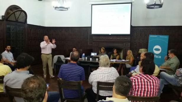 El AFSCA realizó taller para adquirir licencias de TDA en Zona Norte.