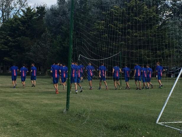 Luego del empate con  Defensa y Justicia en cero, el equipo entreno