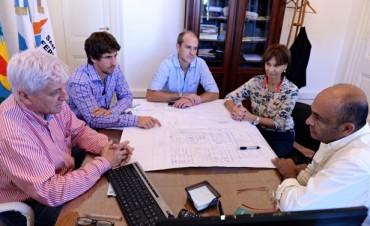 Andreotti convocó a funcionarios de Malvinas Argentinas para avanzar en el nuevo Centro Prehospitalario