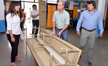 El Municipio de San Fernando entregó mobiliario en otras 3 escuelas provinciales