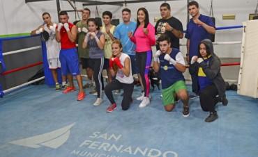 La Escuela Municipal de Boxeo de San Fernando reabrió su inscripción