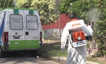San Fernando avanza en la prevención del dengue en el barrio Villa Federal