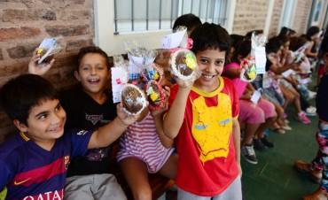 Los chicos de los CEIM y las UDI de San Fernando celebraron la Pascua