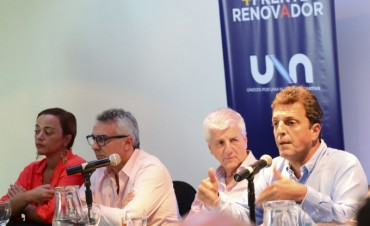 """Luis Andreotti: """"Desde el Frente Renovador estamos preocupados por la situación"""""""