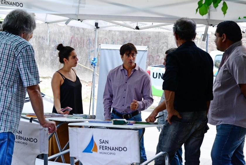 """Positivo balance de """"El Municipio en tu Barrio"""" en San Fernando"""