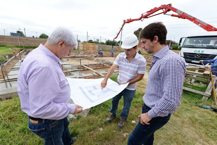 Andreotti supervisó la construcción de la nueva UDI para el complejo 'Barrios Unidos'