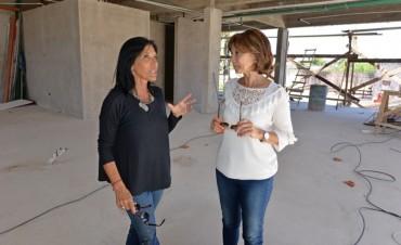 Última etapa de obra del edificio de Salud, Medio Ambiente y Desarrollo Social de San Fernando