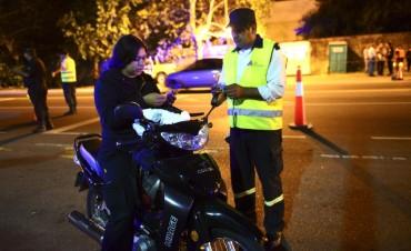 Continúan los controles de tránsito en todo San Fernando