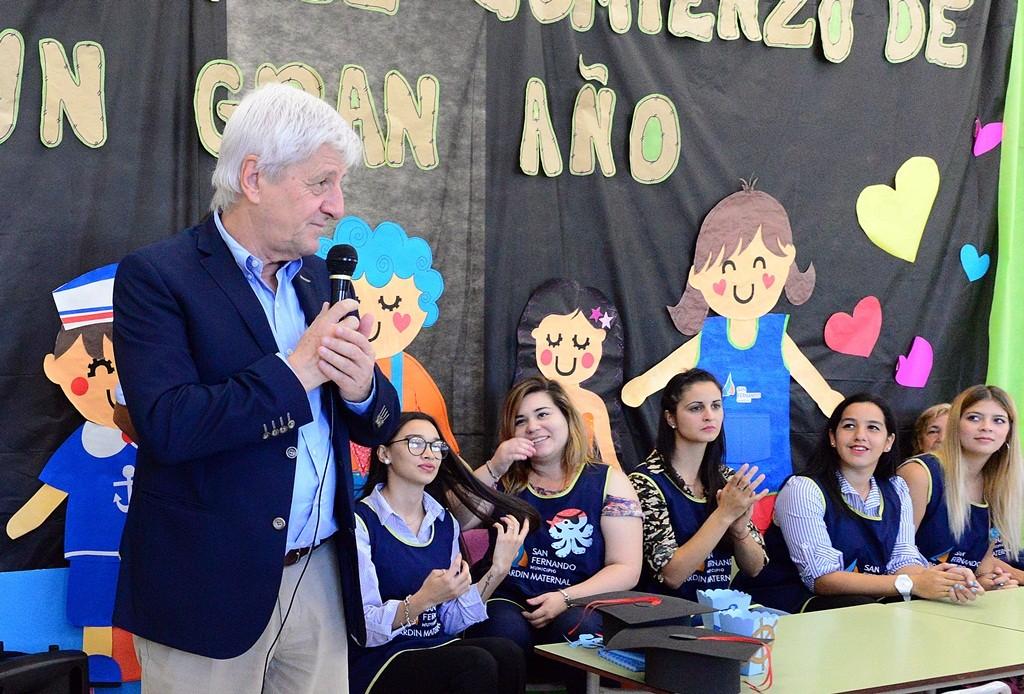 Andreotti dio inicio al ciclo lectivo de los Jardines Maternales Municipales