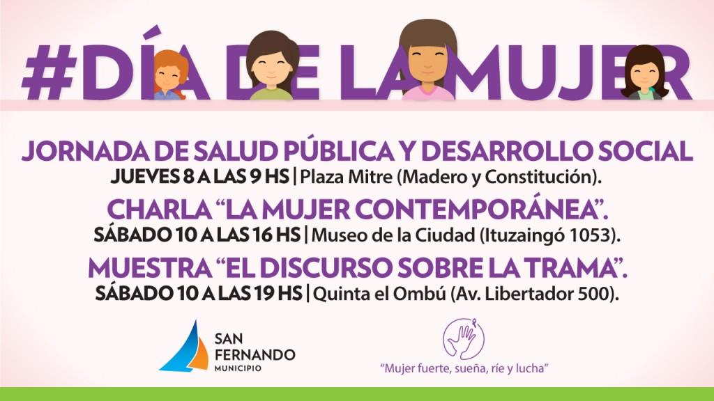 San Fernando conmemora el Día Internacional de la Mujer