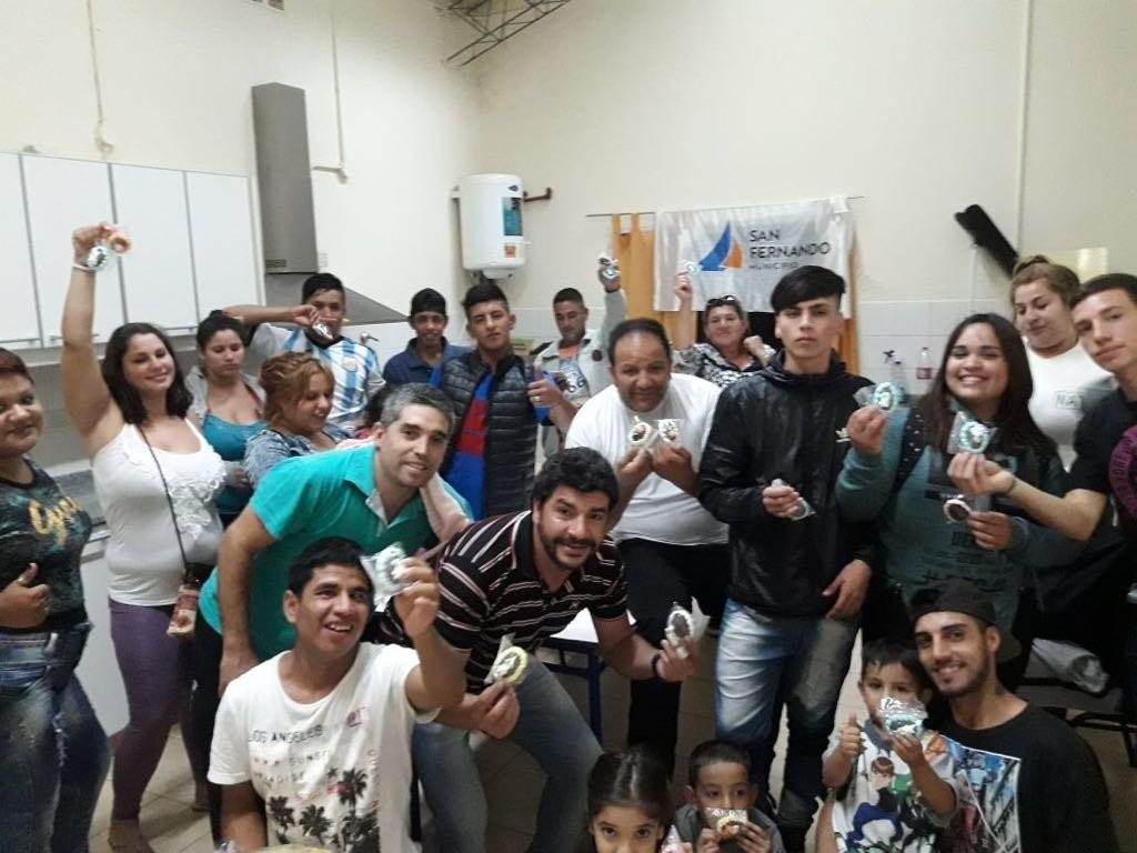 Los chicos del Centro Convivencial Terapéutico  festejaron pascuas
