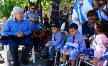 Andreotti conmemoró el Día de la Mujer, e inauguró el ciclo lectivo en el CEIM N° 1