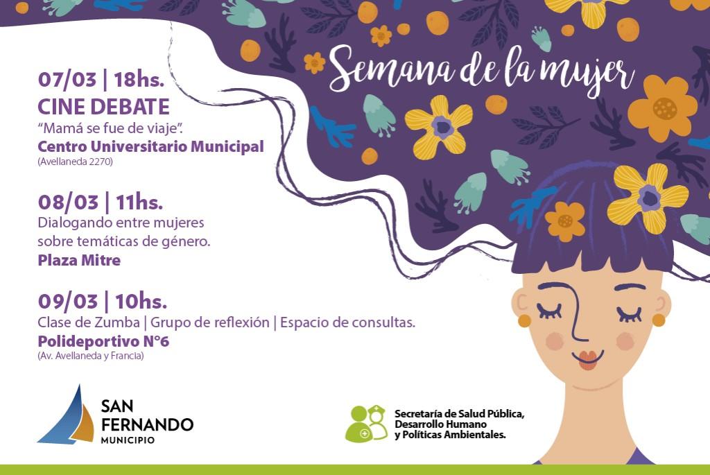 San Fernando conmemora la Semana de la Mujer con un montón de actividades