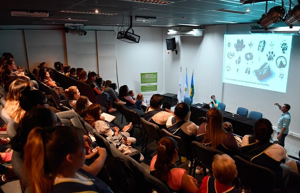 El Municipio brindó una capacitación sobre Sanfer Recicla para docentes de Jardines Maternales