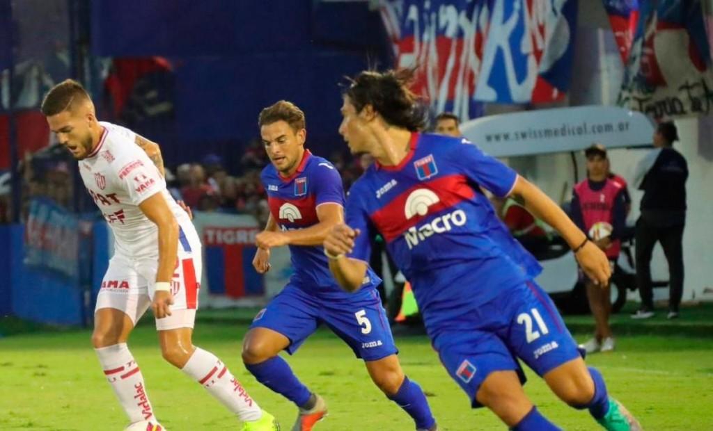 Tigre logró un agónico empate de local ante Unión 2  A  2 por la Superliga